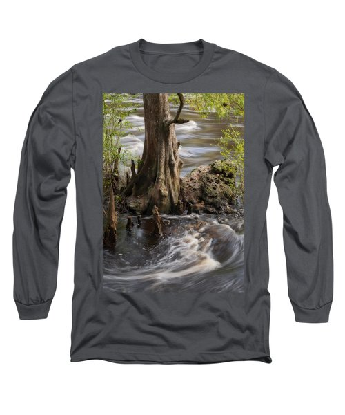 Long Sleeve T-Shirt featuring the photograph Florida Rapids by Steven Sparks