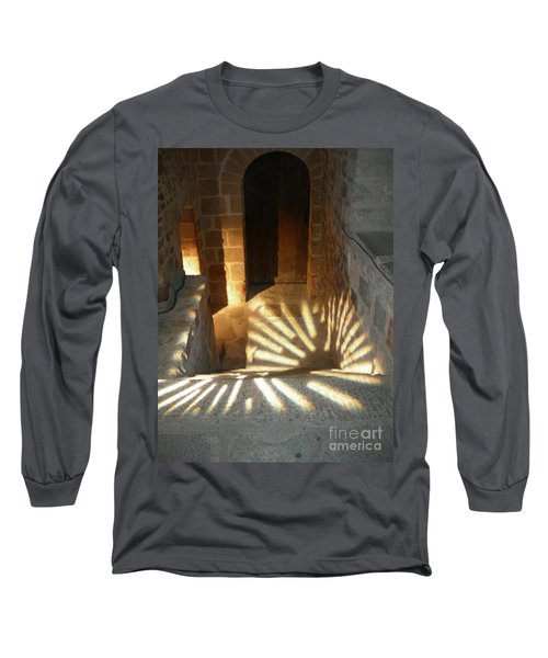 Follow The Light-stairs Long Sleeve T-Shirt