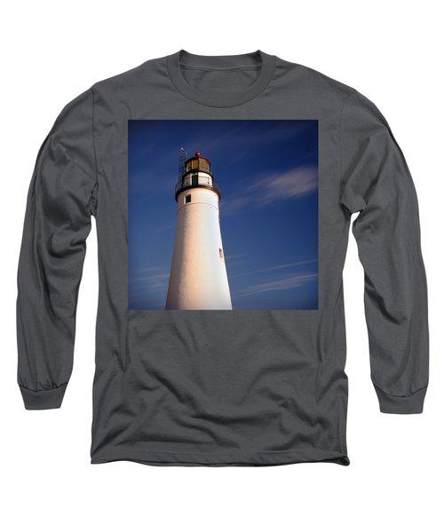 Long Sleeve T-Shirt featuring the photograph Fort Gratiot Lighthouse by Gordon Dean II