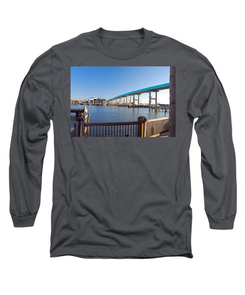 Fort Myers Bridge Long Sleeve T-Shirt