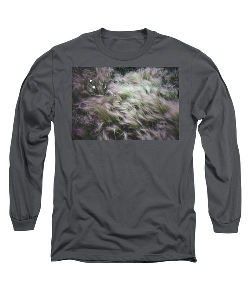 Foxtail Barley And Campion Long Sleeve T-Shirt
