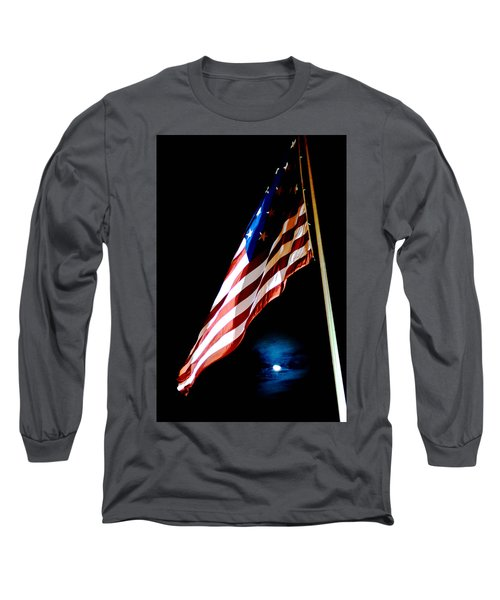 Flag On Federal Hill Long Sleeve T-Shirt