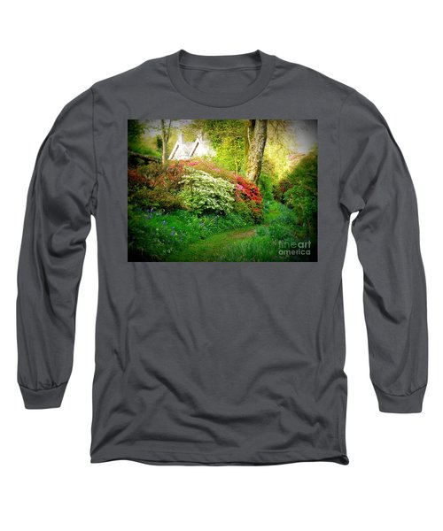 Gardens Of The Old Rectory Long Sleeve T-Shirt