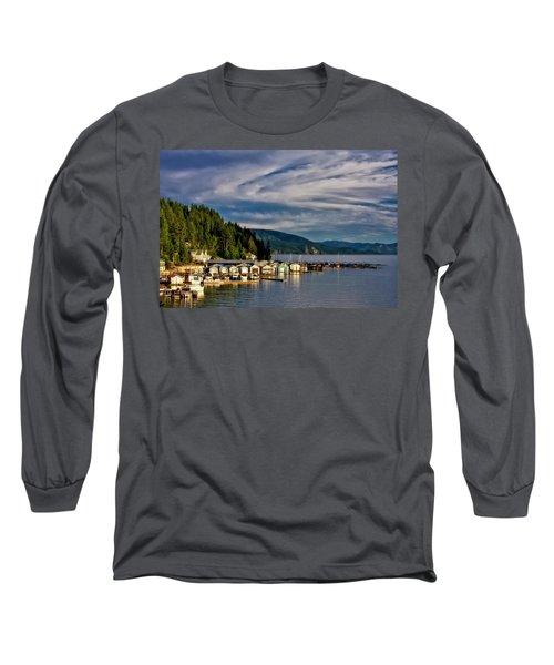 Long Sleeve T-Shirt featuring the photograph Garfield Bay by Albert Seger
