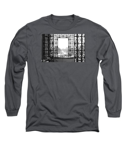 Gateway To The Future Long Sleeve T-Shirt by Milena Ilieva