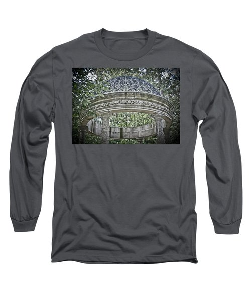 Gazebo At Longwood Gardens Long Sleeve T-Shirt