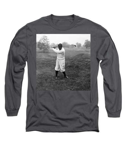 Long Sleeve T-Shirt featuring the photograph Gene Sarazen - Professional Golfer by International  Images