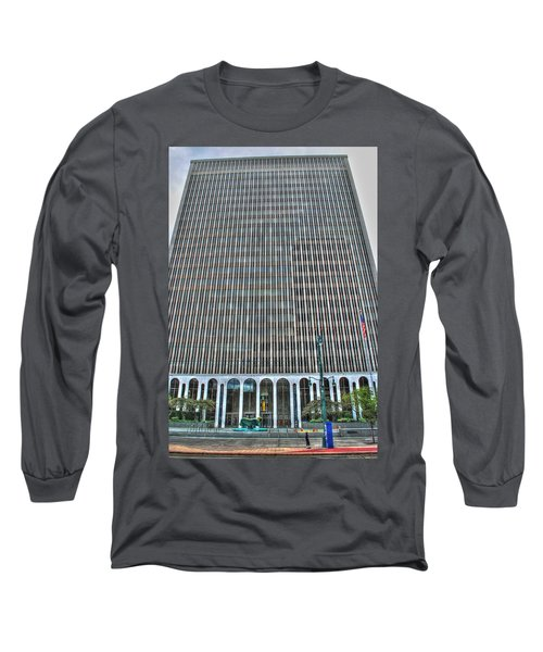 Long Sleeve T-Shirt featuring the photograph Giant Bank Of M And T by Michael Frank Jr