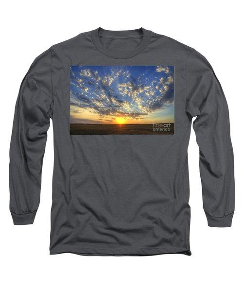 Glorious Sunrise Long Sleeve T-Shirt by Jim And Emily Bush