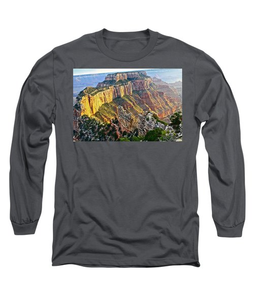 Gold Rim Long Sleeve T-Shirt