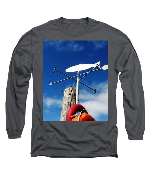 Long Sleeve T-Shirt featuring the photograph Gone Fishing by Charlie and Norma Brock