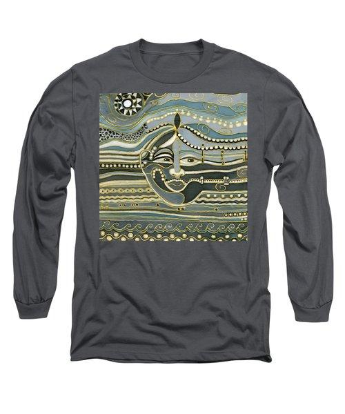 Green Maya Long Sleeve T-Shirt by Rachel Hershkovitz