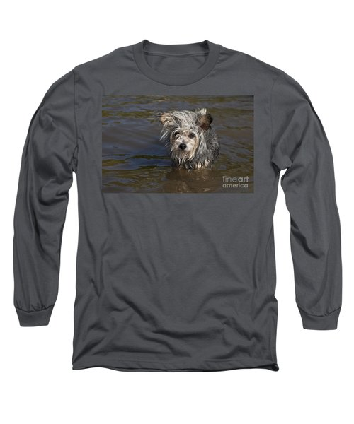 Long Sleeve T-Shirt featuring the photograph Gremlin by Jeannette Hunt
