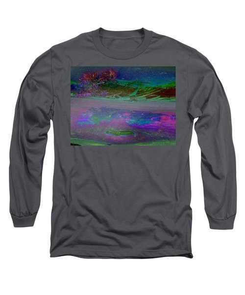 Long Sleeve T-Shirt featuring the digital art Grow by Richard Laeton