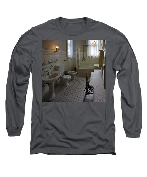 Haas Lilienthal House Victorian Bath - San Francisco Long Sleeve T-Shirt