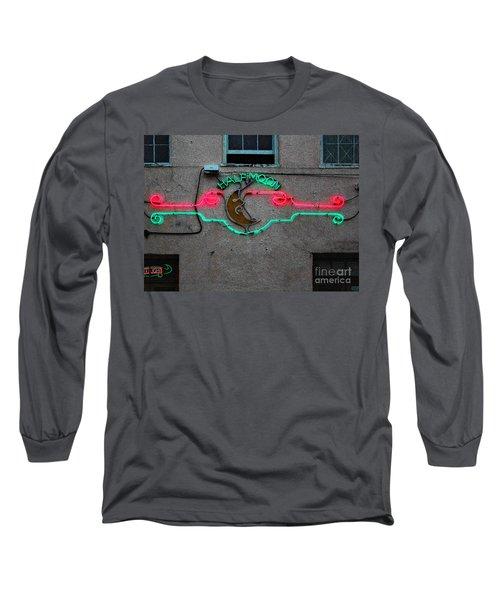 Half Moon Bar New Orleans Long Sleeve T-Shirt