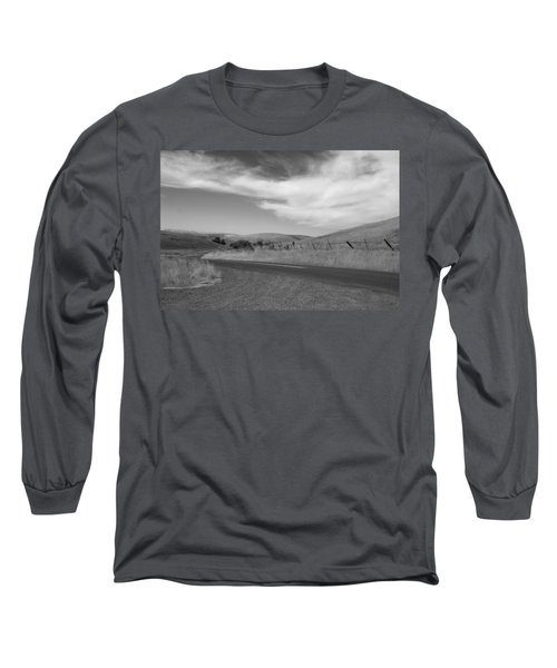 Long Sleeve T-Shirt featuring the photograph Heading Inland by Kathleen Grace