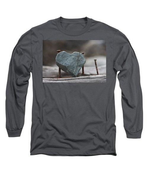 Heart Of Stone Long Sleeve T-Shirt