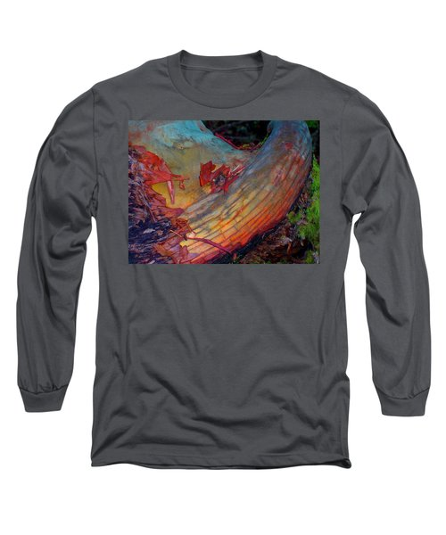 Long Sleeve T-Shirt featuring the digital art Here And Now by Richard Laeton