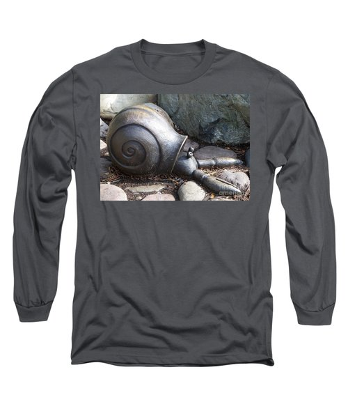 Long Sleeve T-Shirt featuring the photograph Hermit Crab by Chalet Roome-Rigdon