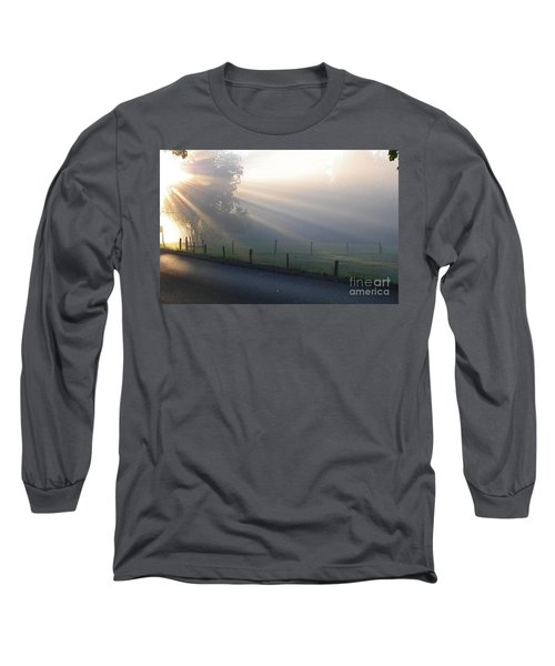 Hope Is In His Light Long Sleeve T-Shirt