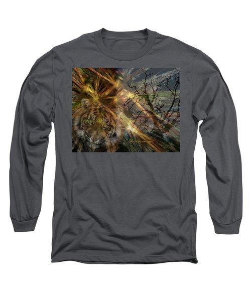Hunter Long Sleeve T-Shirt by EricaMaxine  Price