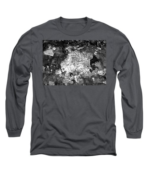 Long Sleeve T-Shirt featuring the photograph Icy Road by Chalet Roome-Rigdon