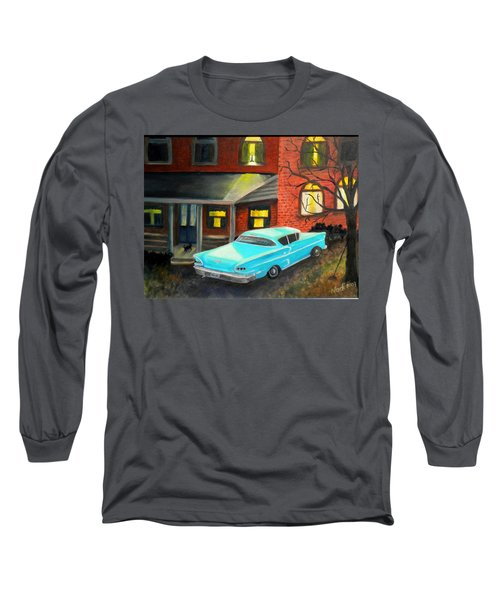 In For The Night Long Sleeve T-Shirt by Renate Nadi Wesley