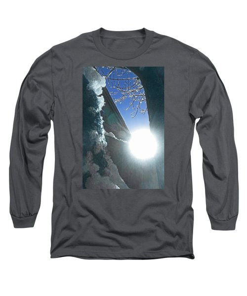 Long Sleeve T-Shirt featuring the photograph In The Cold Of The Sun by Steve Taylor