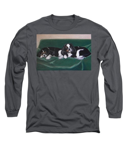 In The Lap Of Luxury Long Sleeve T-Shirt by Jeanette Jarmon