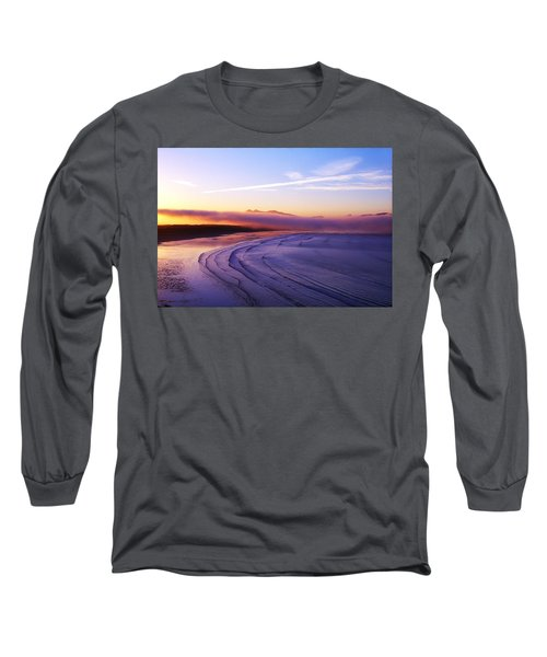 Inch Beach, Dingle Peninsula, Co Kerry Long Sleeve T-Shirt