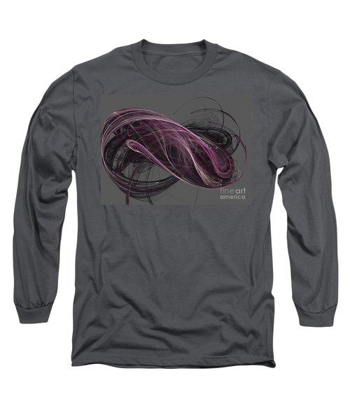 Long Sleeve T-Shirt featuring the digital art Infinity by Kim Sy Ok