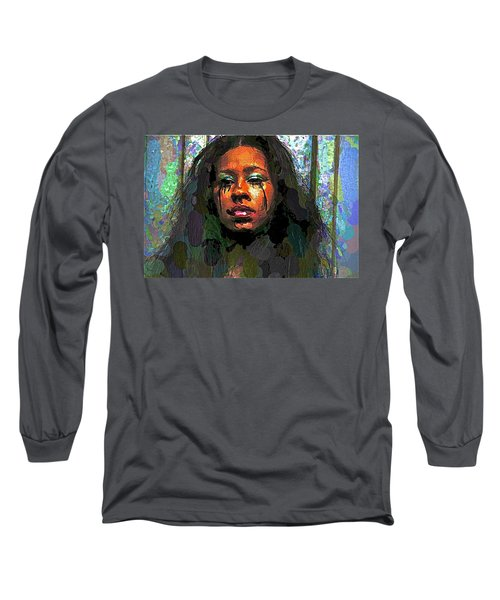 Long Sleeve T-Shirt featuring the photograph Jemai by Alice Gipson