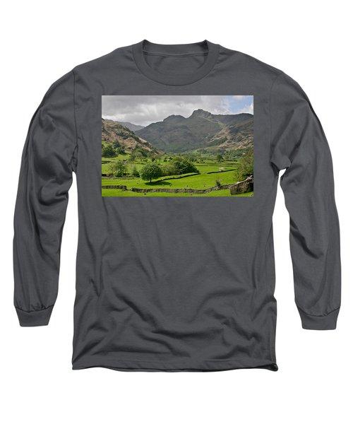 Lake District England Long Sleeve T-Shirt