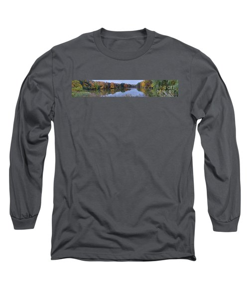 Long Sleeve T-Shirt featuring the photograph Lake Eastman by William Norton