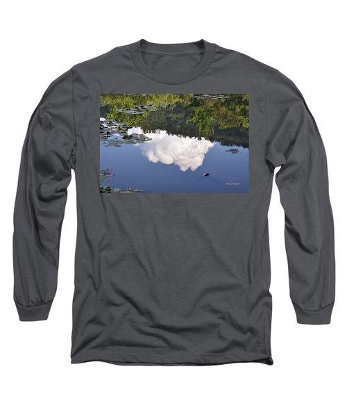 Lake Reflection Long Sleeve T-Shirt by Kay Lovingood