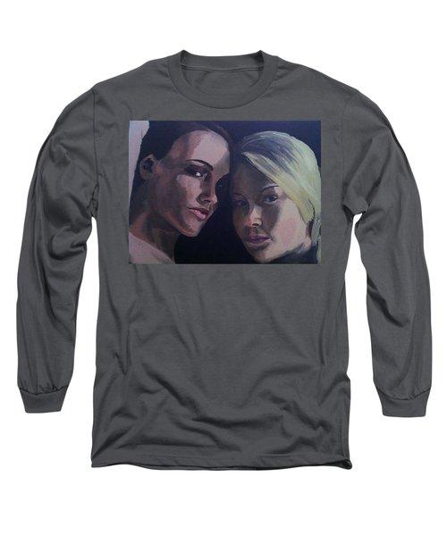Leah And Tiffany Long Sleeve T-Shirt