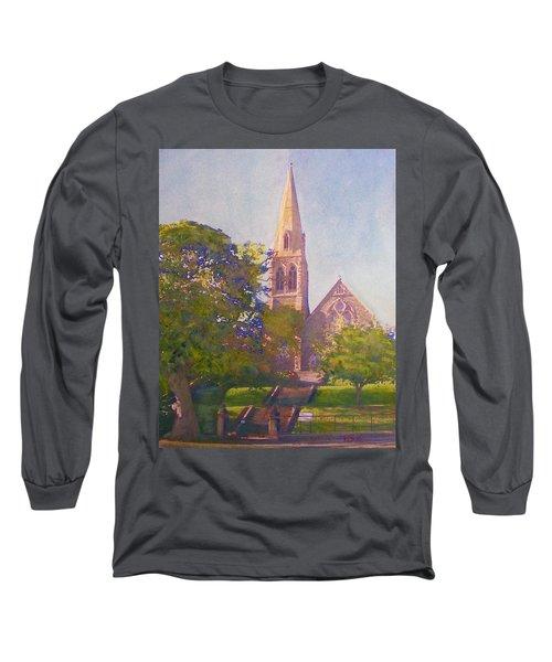Leckie Memorial  Church  Peebles Scotland Long Sleeve T-Shirt