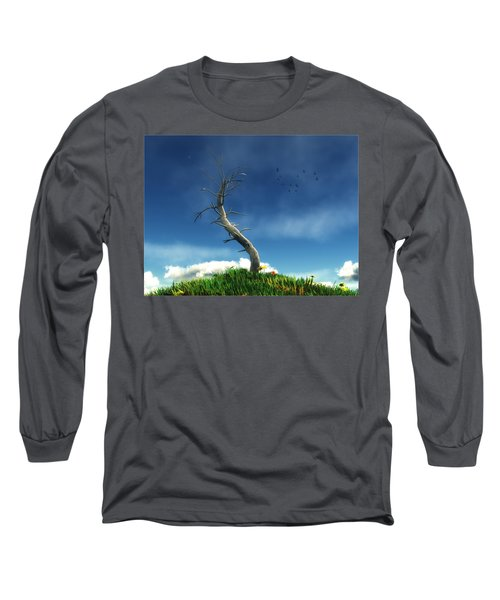 Life And Death... Long Sleeve T-Shirt by Tim Fillingim