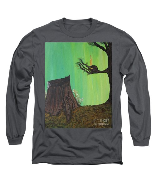 Light A Candle For Me Long Sleeve T-Shirt