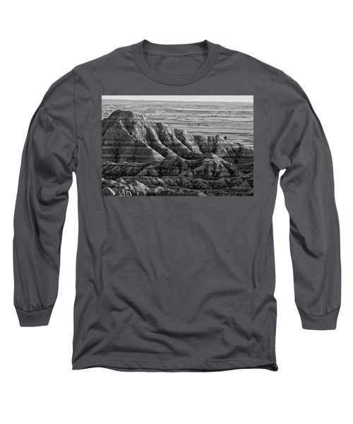 Line Them Up Long Sleeve T-Shirt by Wilma  Birdwell