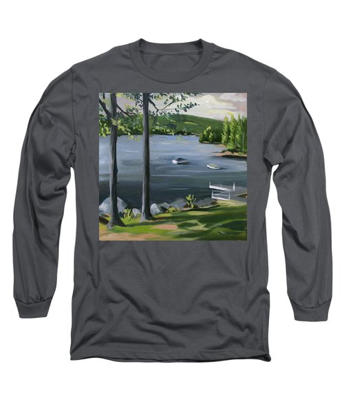 Little Squam In June Long Sleeve T-Shirt