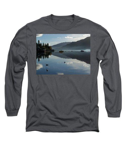 Long Sleeve T-Shirt featuring the photograph Lochgoilhead by Lynn Bolt