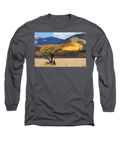 Long Sleeve T-Shirt featuring the photograph Lone Tree by Jim Garrison