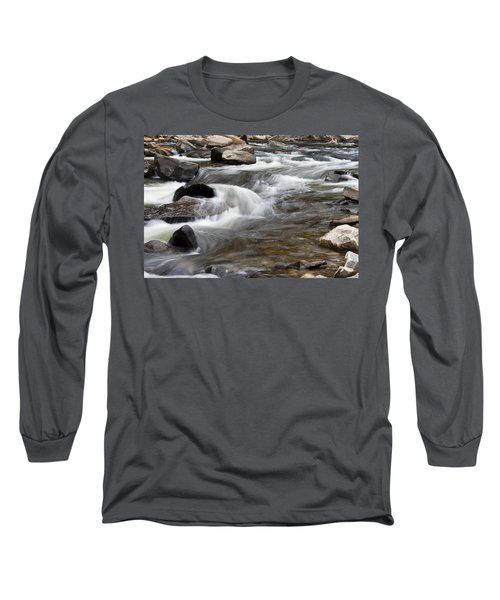 Loyalsock Creek Gentle Rapids Long Sleeve T-Shirt