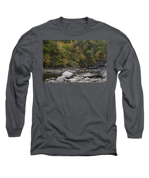 Loyalsock Creek Worlds End State Park Long Sleeve T-Shirt