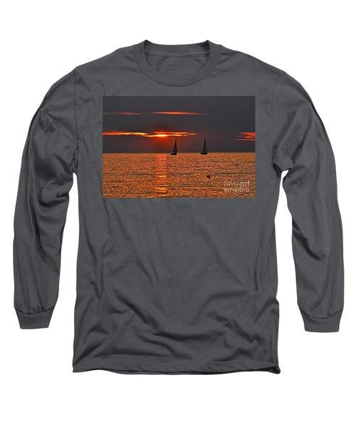 Coral Maritime Dream Long Sleeve T-Shirt