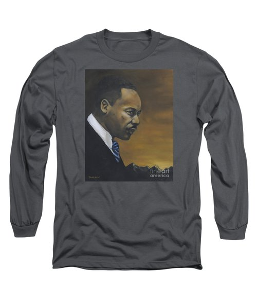Martin Luther King Jr - From The Mountaintop Long Sleeve T-Shirt