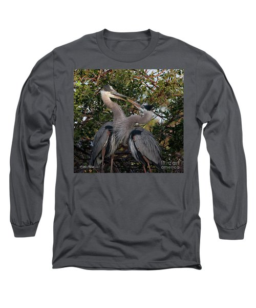 Mating Discussion Long Sleeve T-Shirt