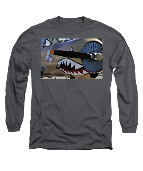 Mean Machine Long Sleeve T-Shirt by David Lee Thompson